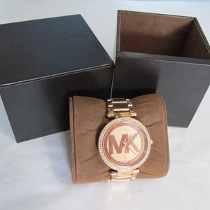 Michael Kors MK-5865 rose gold with crystals